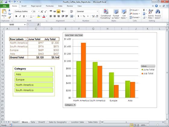 В этой версии Excel получил